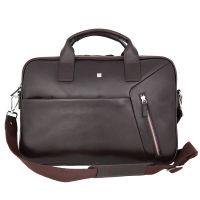 Деловая сумка Sergio Belotti 9282 VT Genoa dark brown