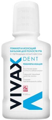 Vivax (Вивакс) Бальзам для полости рта Реминерализующий с пептидным комплексом 250 мл
