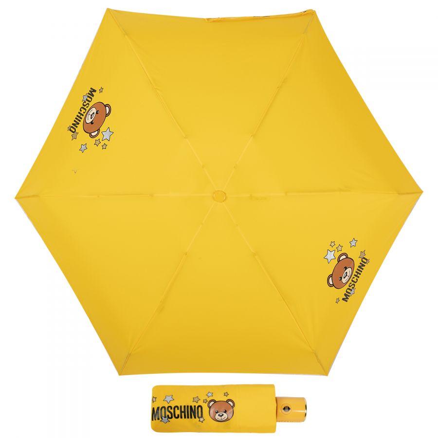 Зонт складной Moschino 8211-compactU Toy Stars Yellow