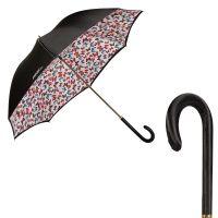 Зонт-трость Ferre 1655-LM Butterflies Black Atlas