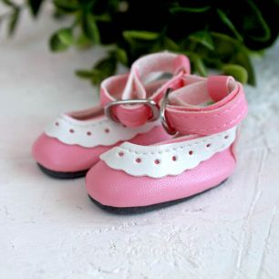 Туфельки для куклы, 4,5 см Розовые