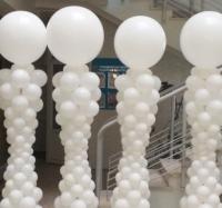 Свадебная стойка из шаров