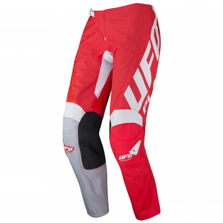 UFO Indium Pants Neon Red штаны для мотокросса и эндуро, красные