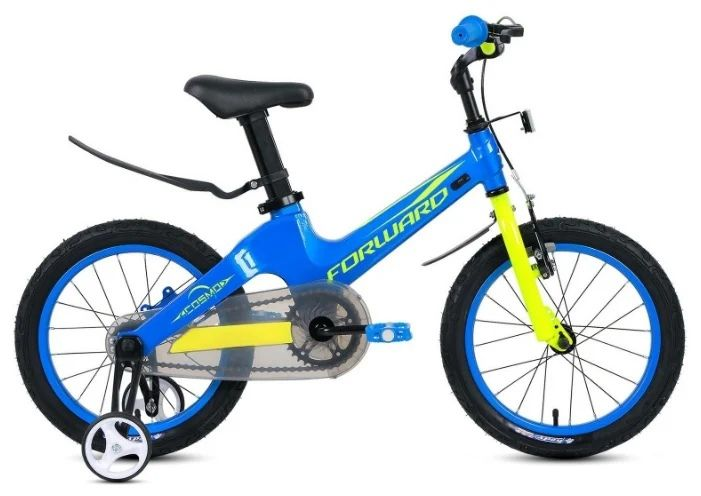 "Велосипед FORWARD COSMO 16 (16"" 1 ск.) Синий (1BKW1K7C1004)"