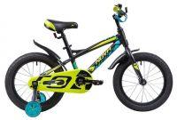 Детский велосипед Novatrack Tornado 16 Чёрный (133957)