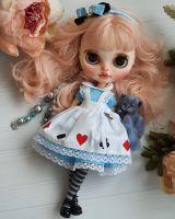 Кукла Блайз Кастом - Алиса в стране чудес