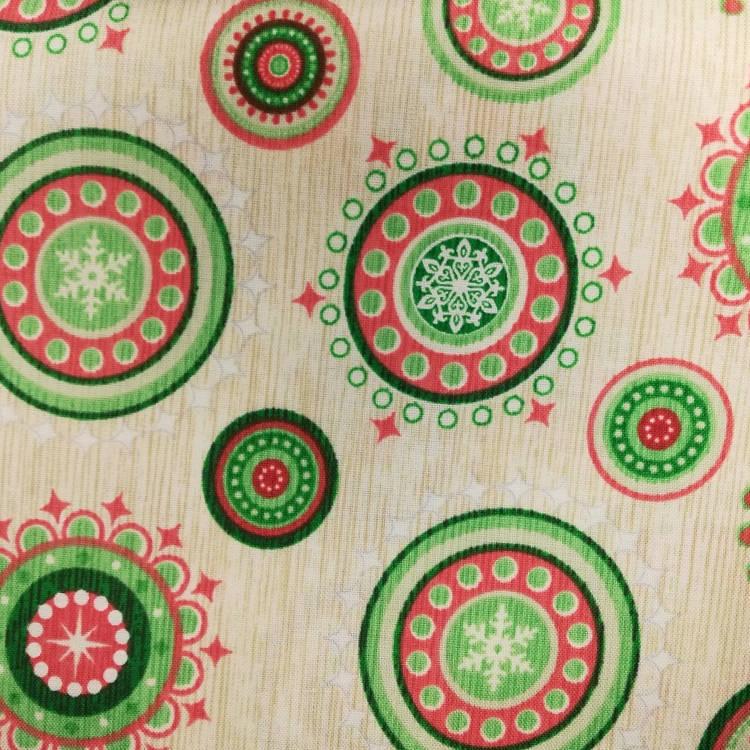 Ткань  Рождество Quilting Treasures США отрез 50 см х 55 см (24618)