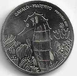 Морской конек  5 евро Португалия  2021