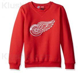 "Толстовка детская NHL Red Wings ""Prime"" Pullover Fleece Crew"
