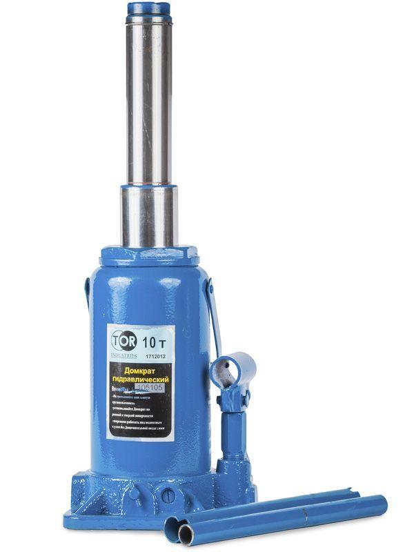 Домкрат гидравлический телескопический  TOR ДГТ-32 г/п 32 т, 2 ур