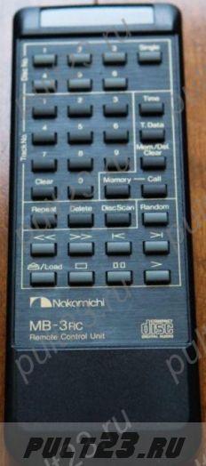 NAKAMICHI MB-3RC, MB-3