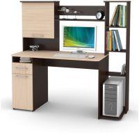 Компьютерный стол Мебель-Комплекс Лоредо СК 22 Шимо Ясень Темный/Шимо Ясень Светлый