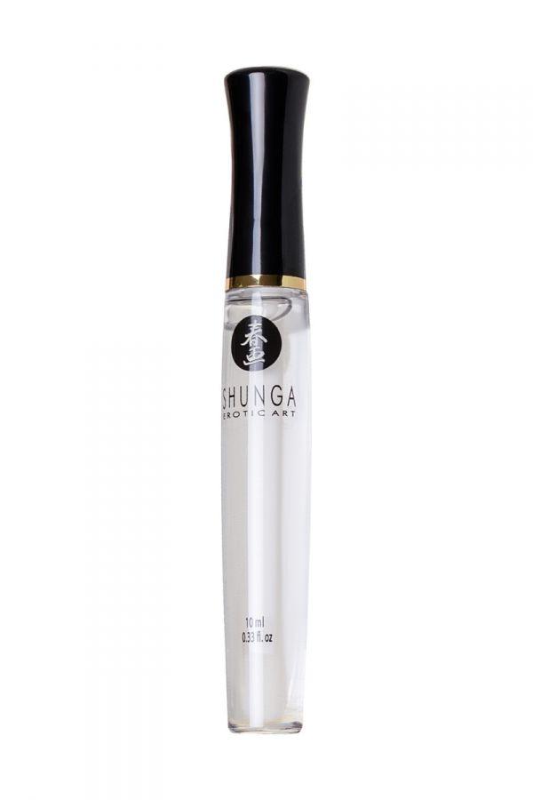 Блеск для губ SHUNGA «Божественное удовольствие», эффект тепла и покалывания, клубника-шампанское