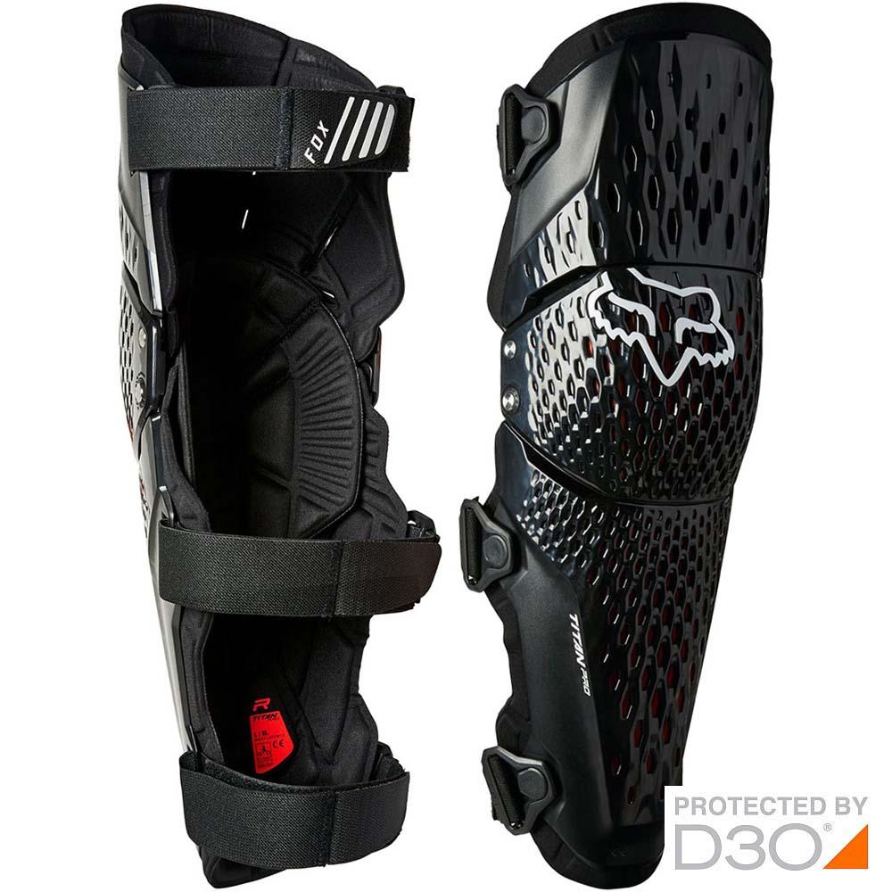 Fox Titan Pro D3O Knee Guard наколенники