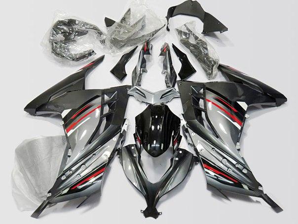 KAWASAKI 300R 2013-2017 Комплект пластика
