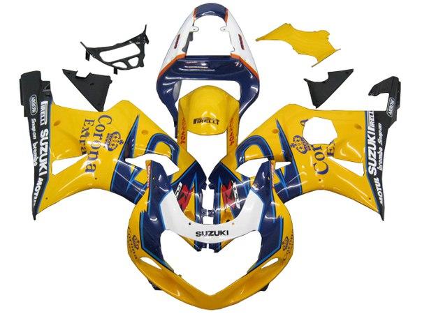 SUZUKI GSX-R 1000 2000-2002 Комплект пластика
