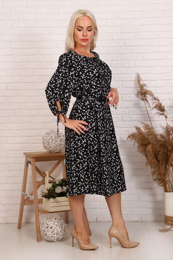 Платье 31533 [черный] р. 50 [распродажа]
