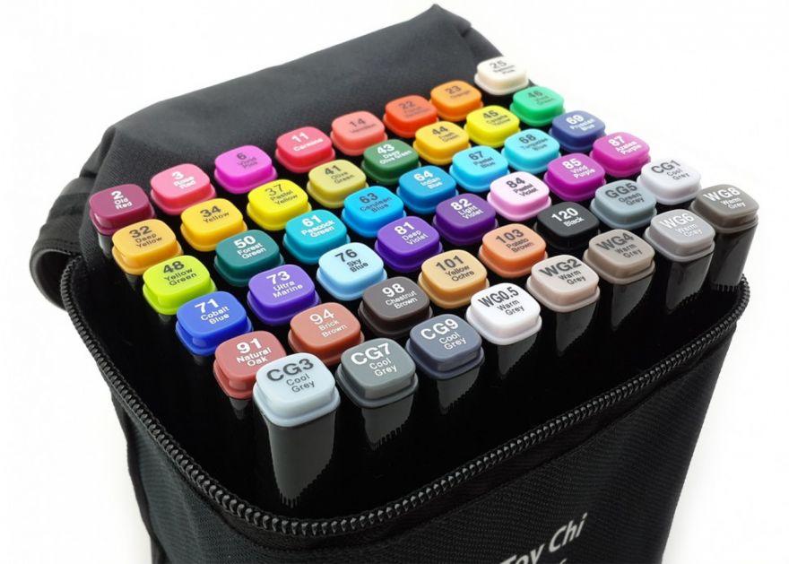 Маркеры для скетчинга Touch 80 цветов
