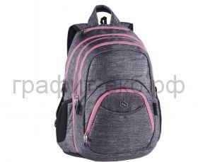 Рюкзак PULSE BACKPACK 2in1 TEENS PINK - GRAY CATIONIC серый/розовый 121547
