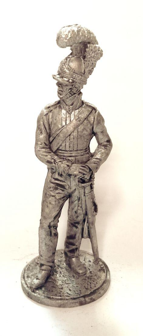 Фигурка Рядовой 3 драг. Собст.полка Короля. Великобритания, 1812 г. олово