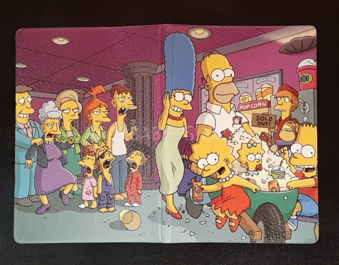 Обложка на паспорт Simpsons