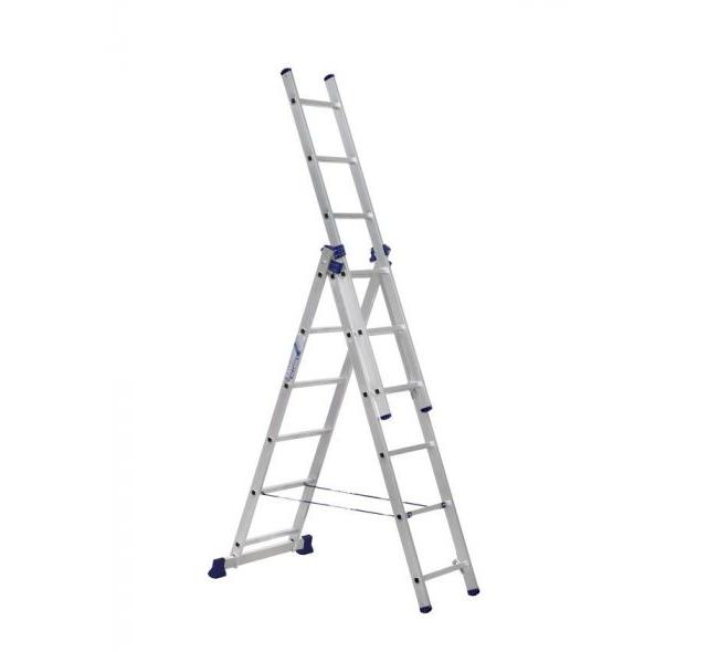 Лестница 3-секционная алюминиевая TOR VL3-12