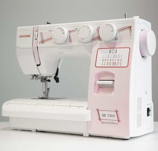 Швейная машина JANOME SE  7515   /  ЦЕНА ПО АКЦИИ -10% 18450 РУБ.!