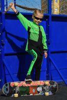 Толстовка 8136 детская [зеленый]