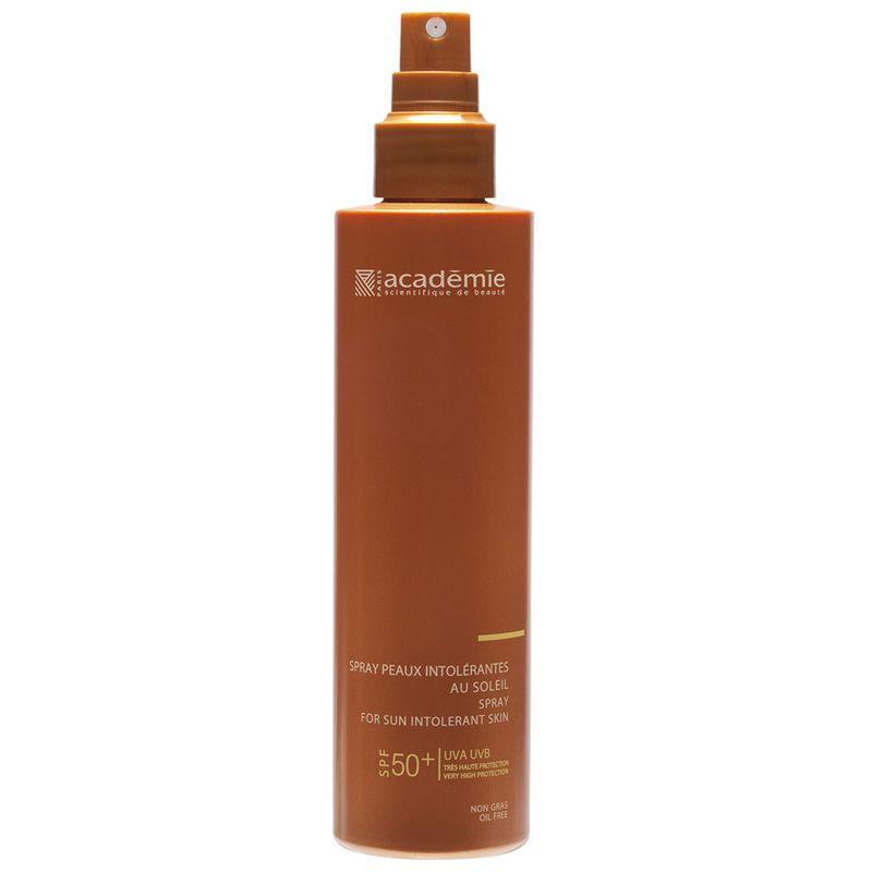 Солнцезащитный спрей для чувствительной кожи SPF 50+  Academie (Академия) 150 мл