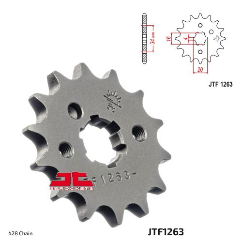 Звезда ведущая JTF1263.16 Yamaha YBR125 нестандартная