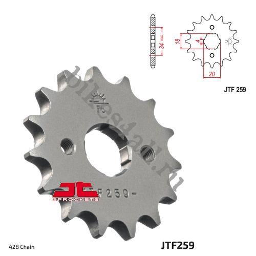 Звезда ведущая JTF259.17 Stels Flex 250 / Irbis TTR250R