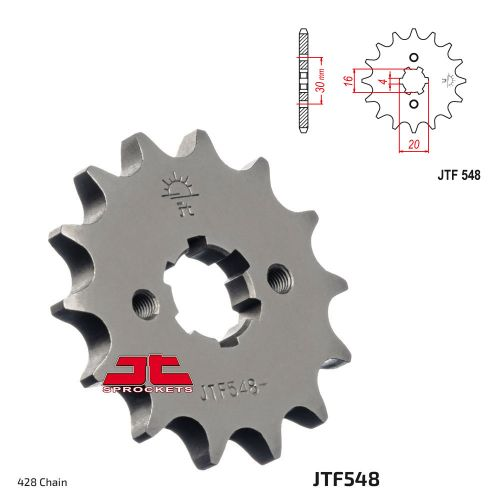 Звезда ведущая JTF548.14 Yamaha YBR125 2009+ стандартная
