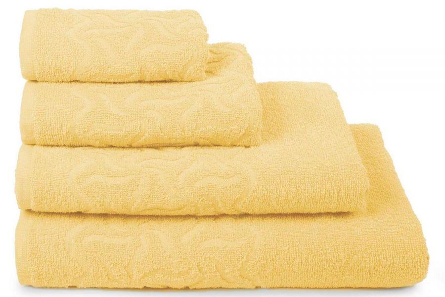 Полотенце махровое Радуга [желтый]