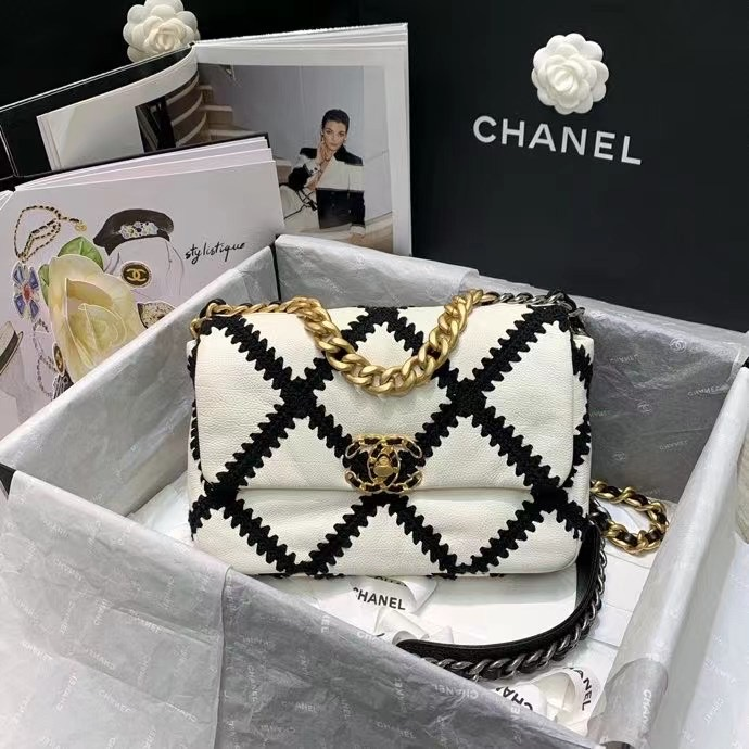 Chanel 19 Flap bag 26 cm