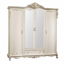 Шкаф Глория MK-2707-WG 4-дверный с зеркалами