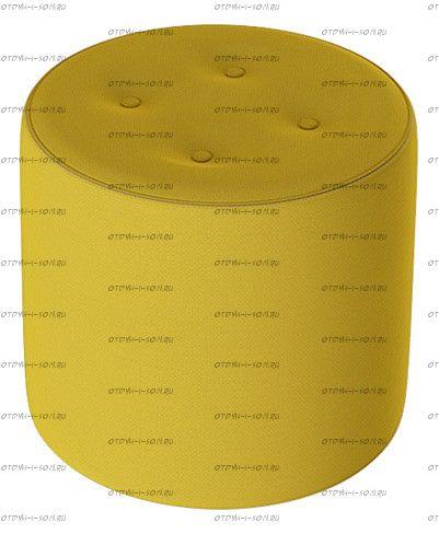 Пуф Тип 8 Велюр Желтый