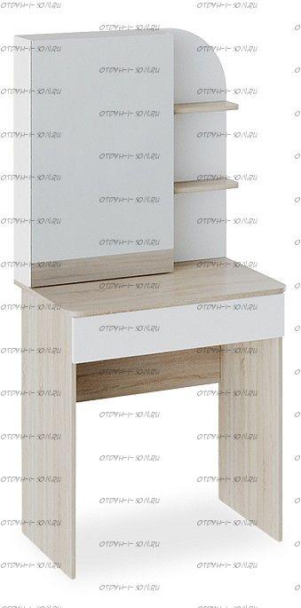 Стол туалетный Майя Дуб сонома/ Белый ясень