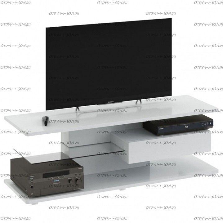 Тумба Diamond ТВ тип 1 Белый глянец