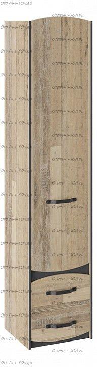 Шкаф для белья Кристофер ТД-328.07.21 Фон Серый/Олд Стайл