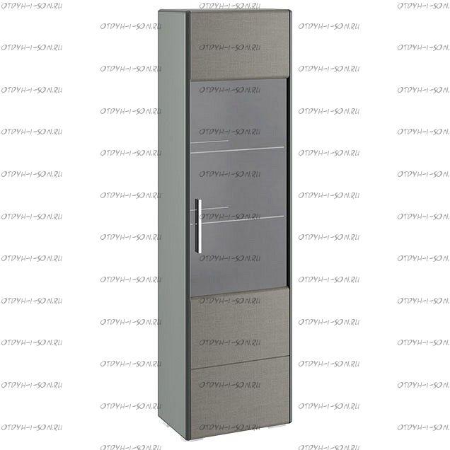 Шкаф для посуды Наоми ТД-208.07.25 Джут, Фон серый