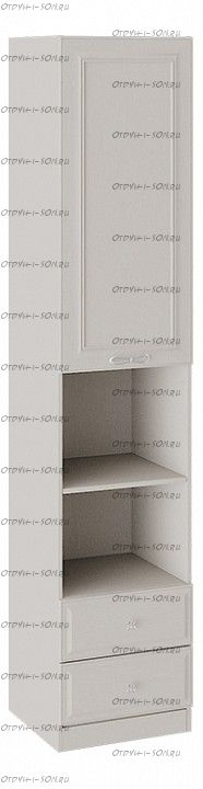 Шкаф комбинированный Сабрина (Кашемир) ТД-307.07.20
