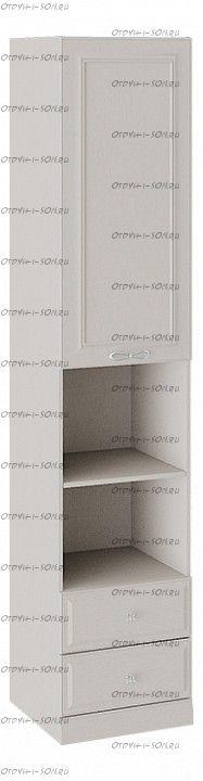 Шкаф комбинированный Сабрина СМ-307.07.200 с опорой Кашемир