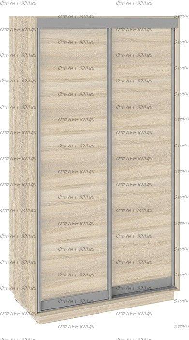 Шкаф-купе 2-х дверный Румер СШК 1.120.60-11.11 1200x600x2200) Дуб Сонома, Дуб сонома/Дуб сонома