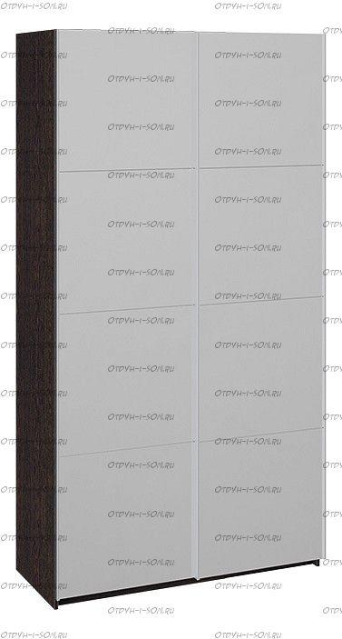 Шкаф-купе 2-х дверный Траст СШК 2.120.60-13.13 (1200x580x2300) Венге, Зеркало/зеркало