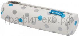 Пенал-косметичка Herlitz Frozen Glam экокожа серый 50026777