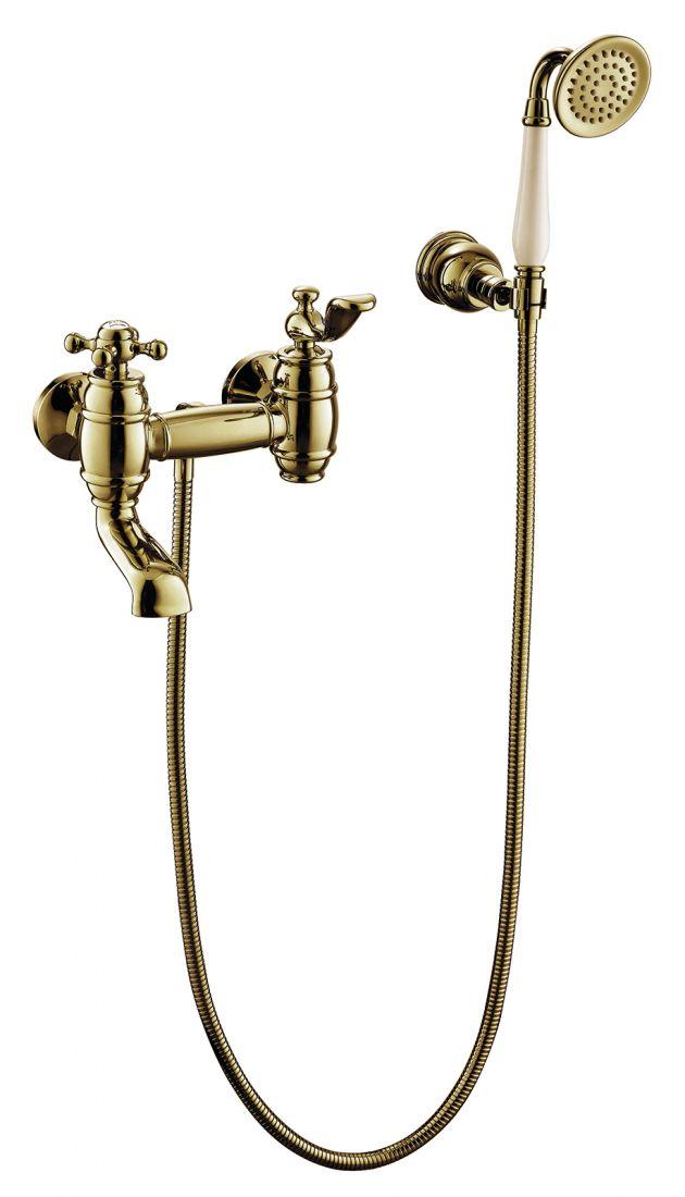 Смеситель для ванны с душем Timo Lina (7034/02Y antique)