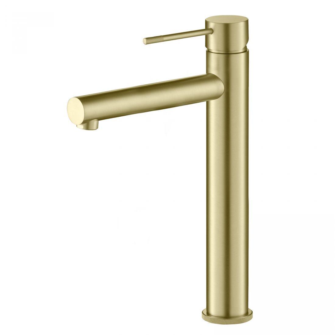 Смеситель для раковины-чаши Timo Saona (2311/17F) золото матовое