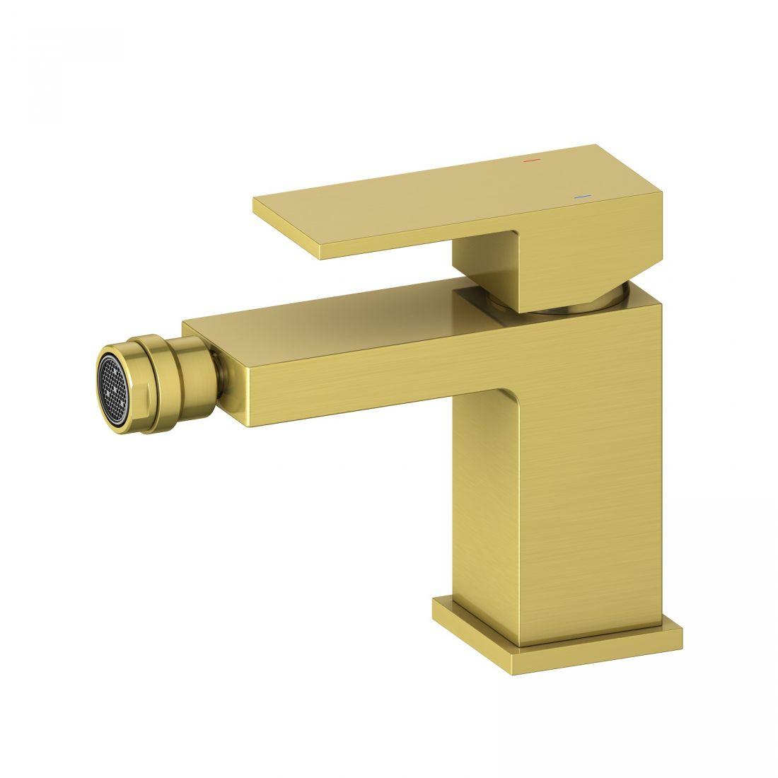 Смеситель для биде Timo Selene (2062/17F) золото матовое