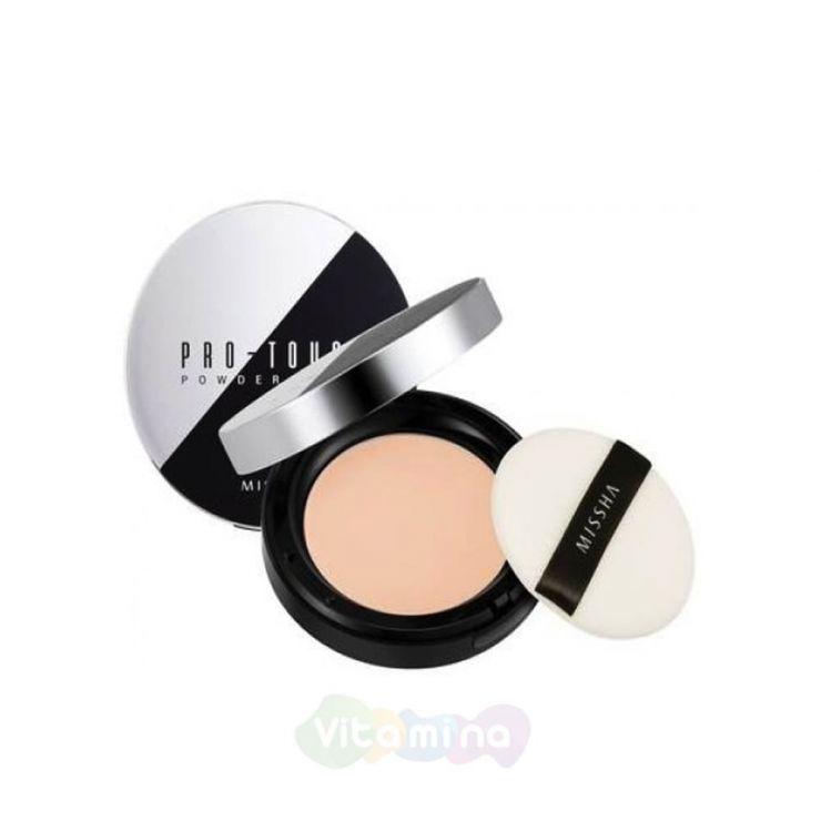Missha Компактная пудра для лица MISSHA Pro-Touch Powder Pact SPF25/PA++, 10 гр
