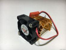 Радиатор с кулером (380/390 мотор)